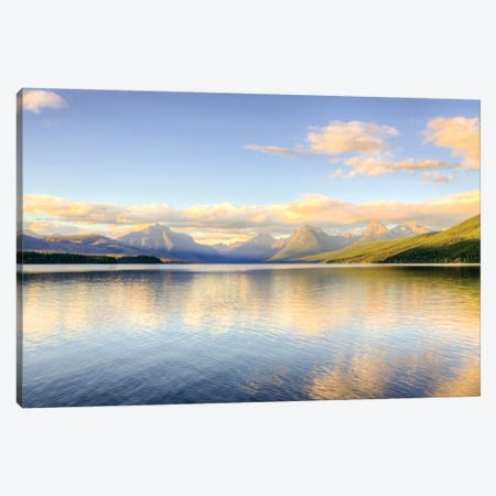 Lake MacDonald Canvas Print #DEL63} by Danita Delimont Canvas Print