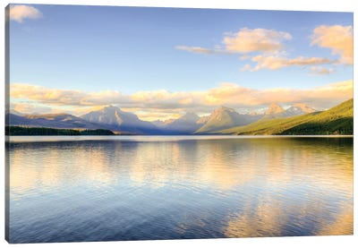 Lake MacDonald Canvas Art Print