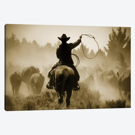 Rope And Ride Canvas Print #DEL64} by Danita Delimont Canvas Art