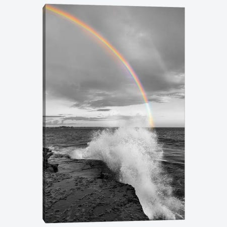 Clarks Point Rainbow Canvas Print #DEL65} by Danita Delimont Canvas Wall Art