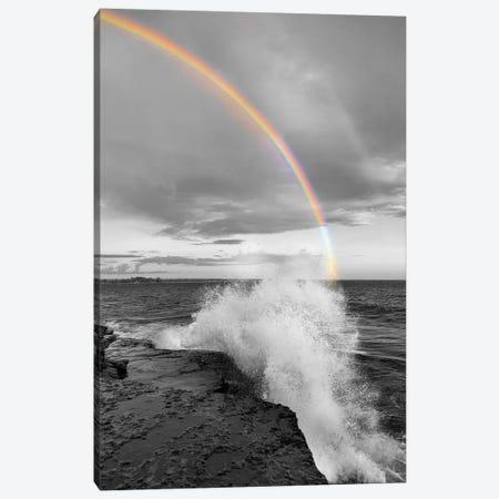 Clarks Point Rainbow Canvas Print #DEL65} by Danita Delimont Canvas Wall Art