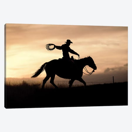Rope And Ride I Canvas Print #DEL72} by Danita Delimont Canvas Art
