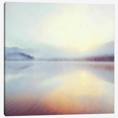 Sunrise Over Beaver Lake Canvas Print #DEL85} by Danita Delimont Canvas Wall Art