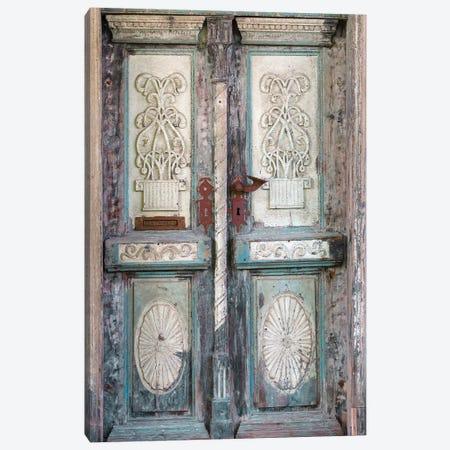Baltic Door Canvas Print #DEL89} by Danita Delimont Canvas Print