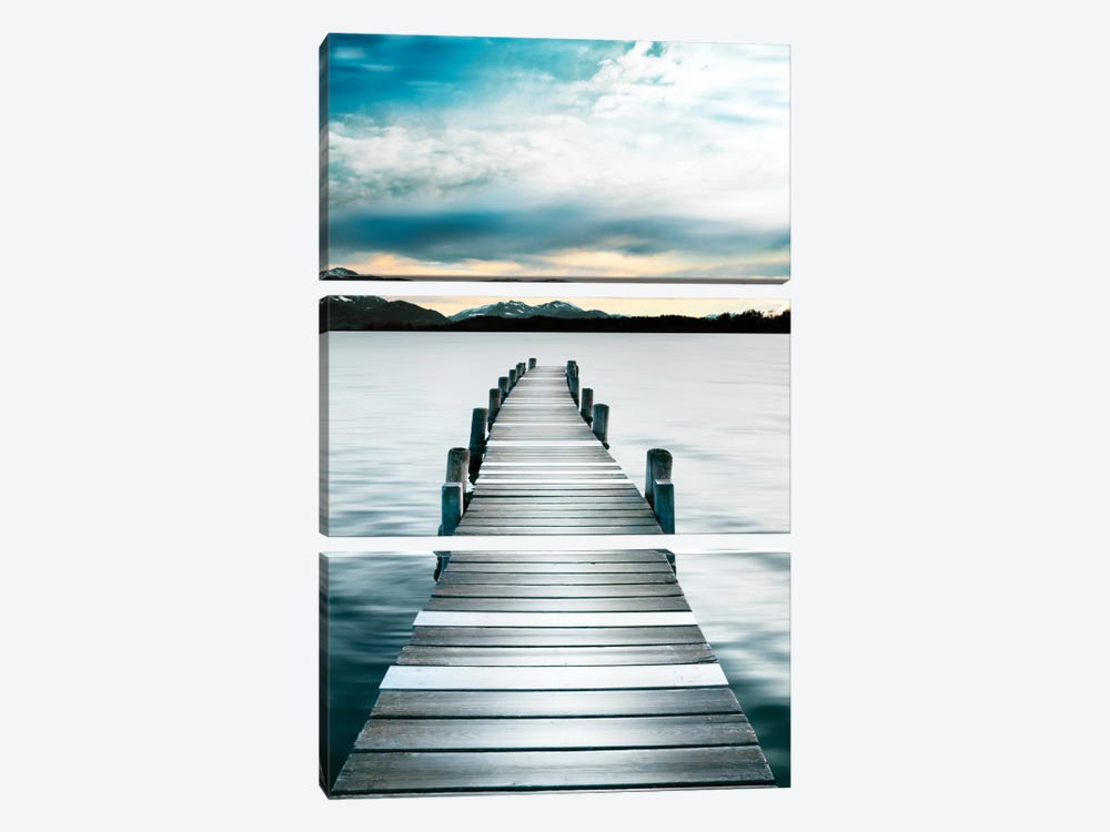 Jetty by Danita Delimont 3-piece Canvas Print