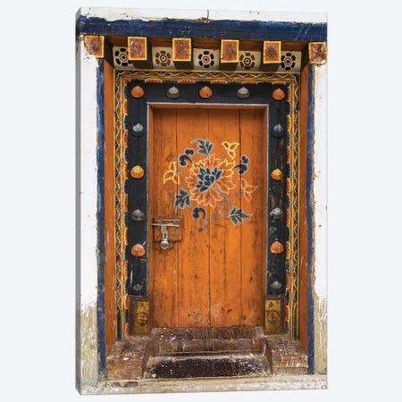 Bhutan Door Canvas Print #DEL90} by Danita Delimont Canvas Art