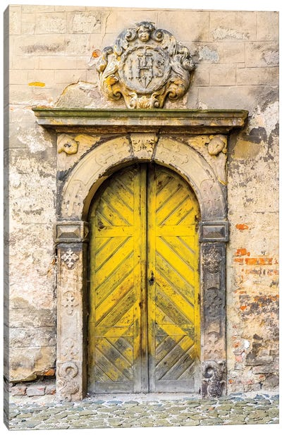 Moravian Door Canvas Art Print