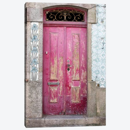 Portuguese Door Canvas Print #DEL93} by Danita Delimont Canvas Artwork
