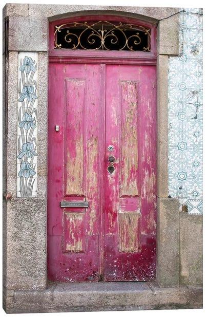 Portuguese Door Canvas Art Print