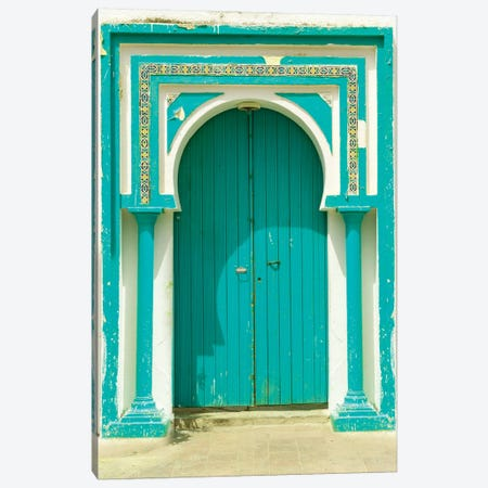 Tunisia Door Canvas Print #DEL96} by Danita Delimont Art Print