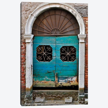 Venice Door Canvas Print #DEL97} by Danita Delimont Art Print