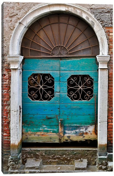 Venice Door Canvas Art Print