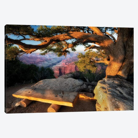 A Place To View Canvas Print #DEN10} by Dennis Frates Canvas Artwork