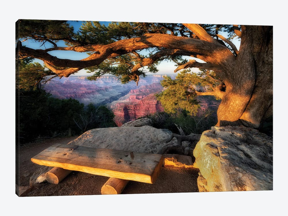 A Place To View by Dennis Frates 1-piece Canvas Art Print
