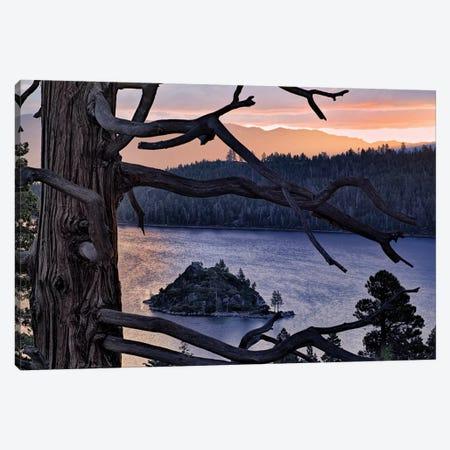 Emerald Bay Sunrise II Canvas Print #DEN110} by Dennis Frates Canvas Art