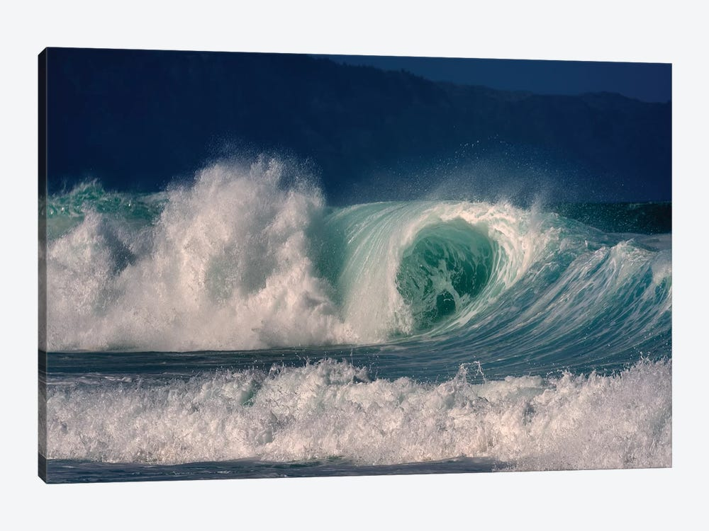 Enormous Wave II by Dennis Frates 1-piece Canvas Print