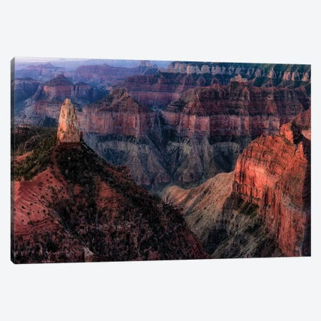 Grand Canyon Formation I Canvas Print #DEN137} by Dennis Frates Canvas Art Print