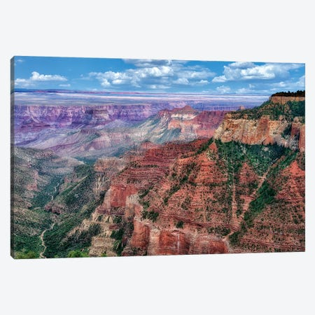 Grand Canyon Formation II Canvas Print #DEN138} by Dennis Frates Canvas Wall Art