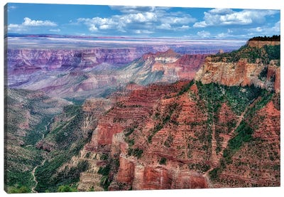 Grand Canyon Formation II Canvas Art Print