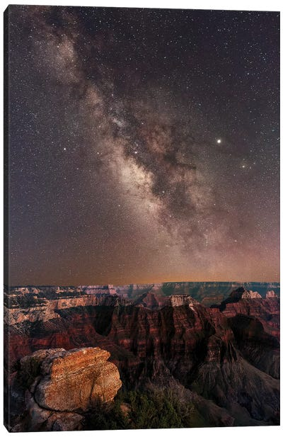 Grand Canyon Night II Canvas Art Print