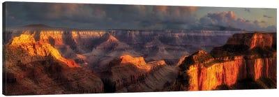 Grand Canyon Panoramic Canvas Art Print