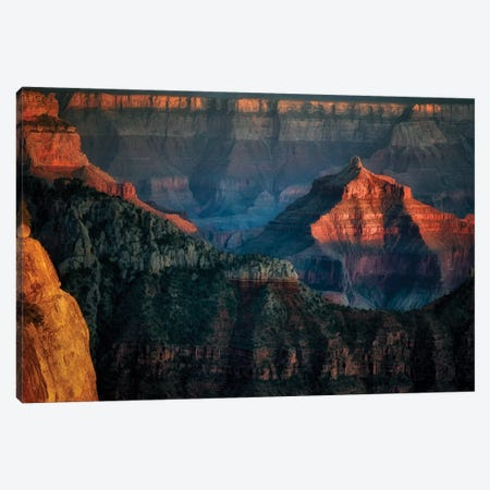 Grand Canyon Spire Canvas Print #DEN142} by Dennis Frates Art Print