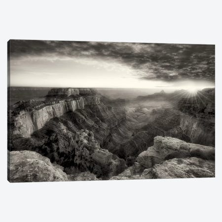 Grand Canyon Sunset I Canvas Print #DEN143} by Dennis Frates Art Print