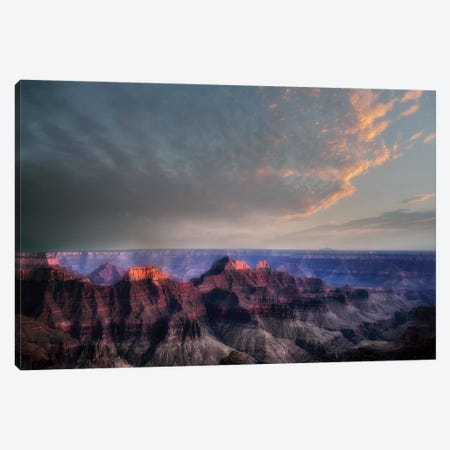 Grand Canyon Sunset III Canvas Print #DEN145} by Dennis Frates Canvas Artwork