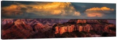 Grand Canyon Sunset V Canvas Art Print