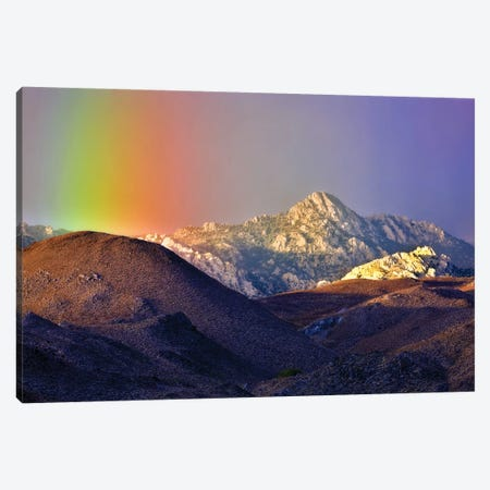 Alpine Rainbow Canvas Print #DEN14} by Dennis Frates Canvas Art Print