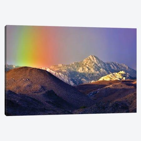 Alpine Rainbow Canvas Print #DEN14} by Dennis Frates Canvas Art Print