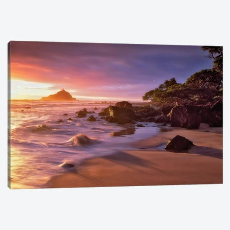 Hawaii Shores Canvas Print #DEN151} by Dennis Frates Canvas Wall Art