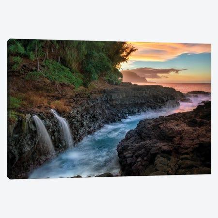 Hidden Waterfalls Canvas Print #DEN155} by Dennis Frates Canvas Print