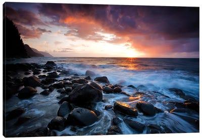 Kea Sunset Canvas Art Print