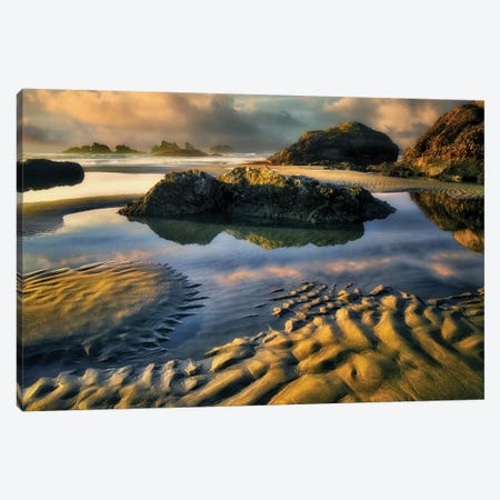 Low Tide II Canvas Print #DEN187} by Dennis Frates Canvas Wall Art