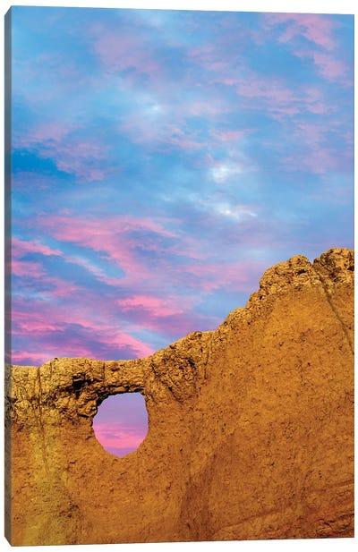 Arch View Canvas Art Print