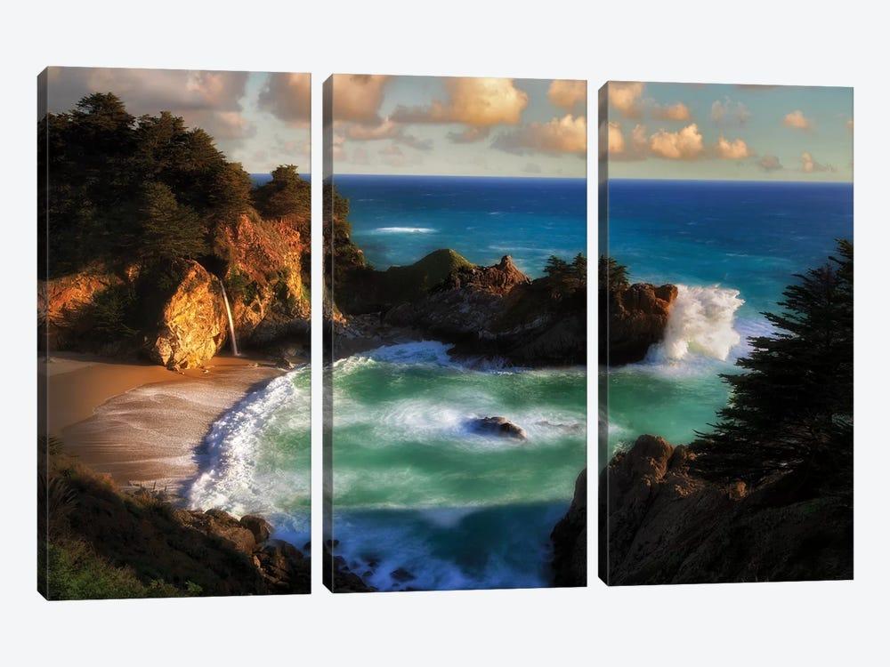 Magic Coast by Dennis Frates 3-piece Canvas Art