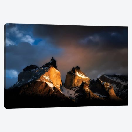Massif Mountains At Sunrise Canvas Print #DEN192} by Dennis Frates Canvas Wall Art