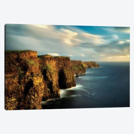Moher Cliffs Canvas Print #DEN198} by Dennis Frates Canvas Art