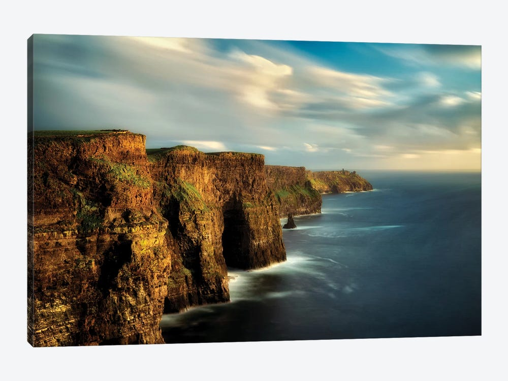 Moher Cliffs by Dennis Frates 1-piece Canvas Artwork