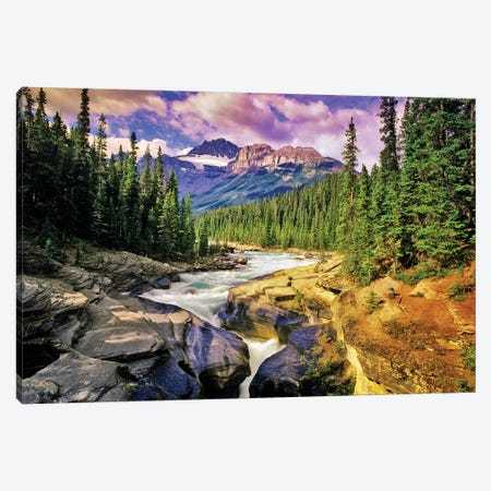 Mountain Stream Canvas Print #DEN220} by Dennis Frates Canvas Wall Art