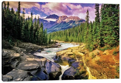 Mountain Stream Canvas Art Print