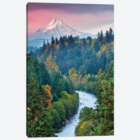 Mt. Hood Autumn I Canvas Print #DEN222} by Dennis Frates Canvas Wall Art