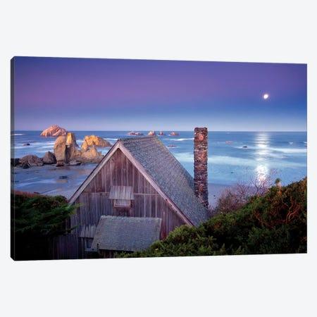 Ocean Cabin Canvas Print #DEN227} by Dennis Frates Art Print