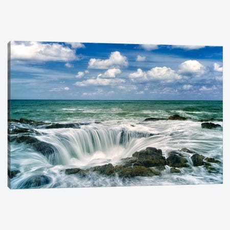 Ocean Well Canvas Print #DEN230} by Dennis Frates Canvas Art Print