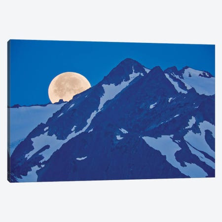 Olympic Moonset I Canvas Print #DEN233} by Dennis Frates Canvas Print