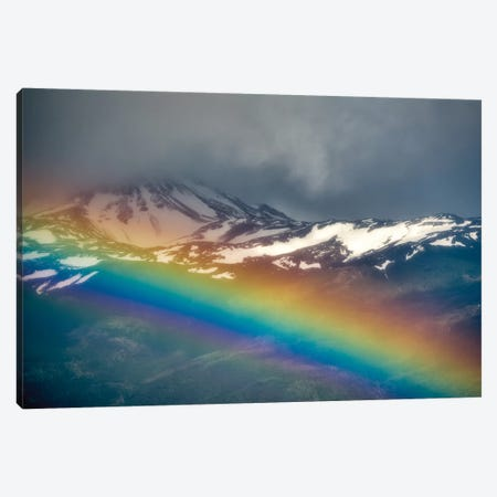 Patagonia Rainbow I Canvas Print #DEN247} by Dennis Frates Canvas Art Print