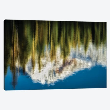 Peak Reflection Canvas Print #DEN251} by Dennis Frates Art Print