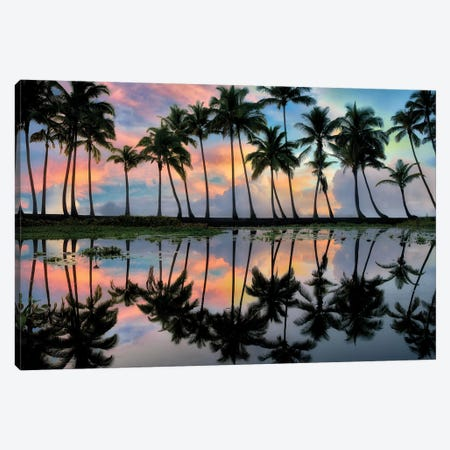 Perfect Reflection Canvas Print #DEN256} by Dennis Frates Canvas Art