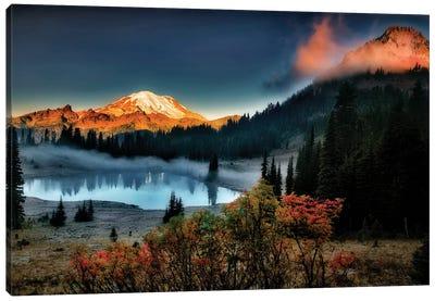 Rainier Sunrise Canvas Art Print